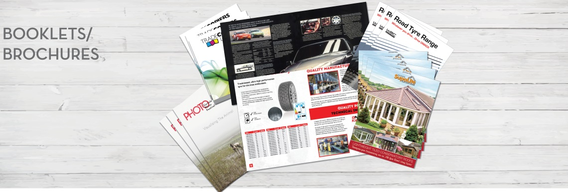 Brochure and Booklet printing and design in Carlisle, Cumbria
